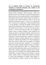 Companhia Siderúrgica Ubu Audiência Pública realizada em ...