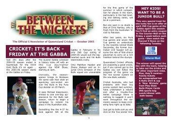 GABBA - Queensland Cricket