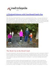 A Weekend Getaway with Year-Round Family Fun (PDF)