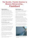 Firestone's FlashGard Thru-Wall Flashing is a - Firestone Specialty ... - Page 3