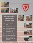 Firestone's FlashGard Thru-Wall Flashing is a - Firestone Specialty ... - Page 5