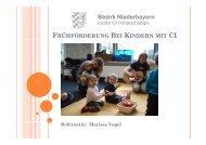 Bezirk Niederbayern - Arbeitsstelle Frühförderung Bayern