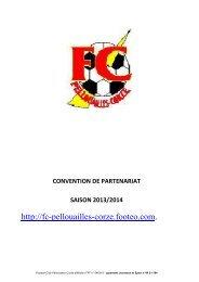 Convention de partenariat FCPC 2013 2014