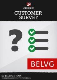 Customer Surveys User Guide - BelVG Magento Extensions Store