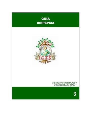 manejo del paciente con dispepsia - Instituto Guatemalteco de ...