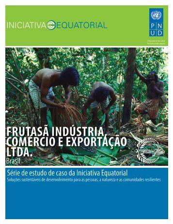 frutasã indústria, comércio e exportação ltda. - Equator Initiative