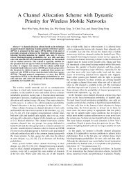 A Channel Allocation Scheme with Dynamic Priority for Wireless ...