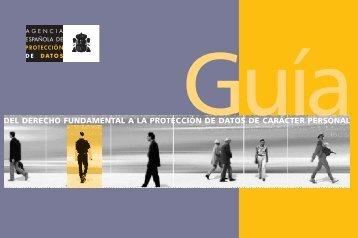 del derecho fundamental a la protección de datos de carácter ...