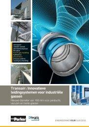 Transair: Innovatieve leidingsystemen voor industriële gassen
