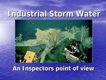 Industrial Storm Water - Hempstead County Economic Development ...