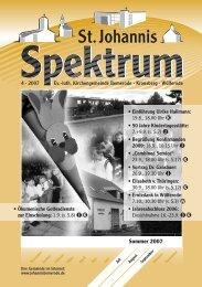 4 (Heft Jul. - Sep. 2007) - St. Johannis Bemerode