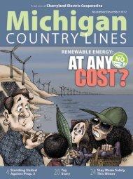 Renewable Energy - Michigan Country Lines Magazine