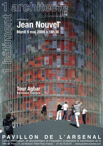 Jean Nouvel - Pavillon de l'Arsenal