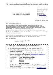 Büro des Umweltbeauftragen der Evang. Landeskirche in ...