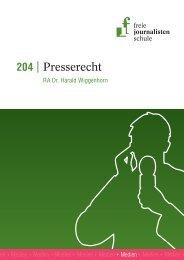 Leseprobe 204 - Freie Journalistenschule