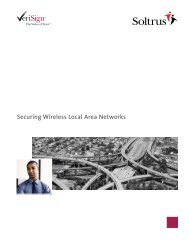 Securing Wireless Local Area Networks - White Paper - VeriSign
