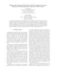 Minimum-Free-Energy Distribution of RNA Secondary Structures ...