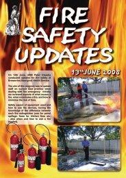 Fire Safety Updates