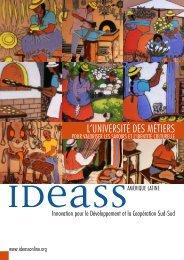 L'UNIVERSITÉ DES MÉTIERS - Ideassonline.org