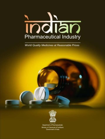 Pharmaceutical Industry - Department of Pharmaceuticals