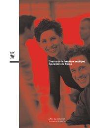 Charte de la fonction publique du canton de Berne