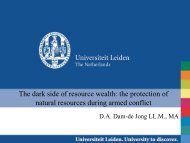 The dark side of resource wealth: the protection of natural resources ...