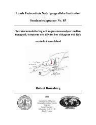Lunds Universitets Naturgeografiska Institution Seminarieuppsatser ...