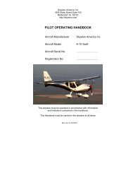 PILOT OPERATING HANDBOOK - Barnstormers