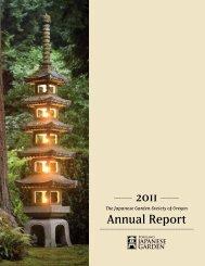 2011 Annual Report - Japanese Garden