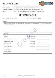 078-2012 Parere procedura di Verifica di ... - Regione Lazio
