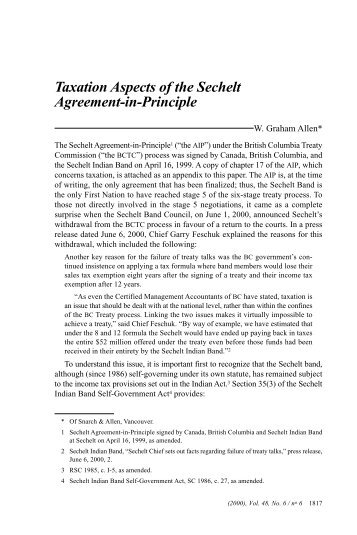 Full text - PDF - Canadian Tax Foundation