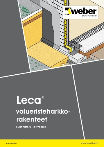 Leca valueristeharkkorakenteet - Taloon.com