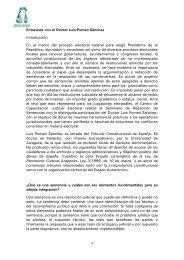 Entrevista con el Doctor Luis Pomed Sánchez Introducción En el ...