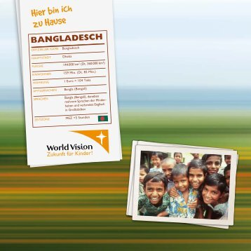 bangladesch - World Vision