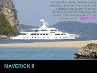 M/Y Maverick II - Paradise Yacht Charters