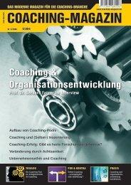 Aufbau von Coaching-Pools Coaching und (Selbst-) Inszenierung ...