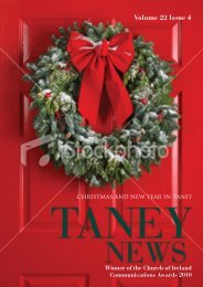 Volume 22 Issue 4 - Taney Parish website