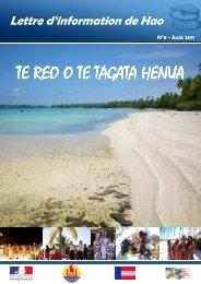 TE REO n°6 - Haut-Commissariat de la république en Polynésie ...