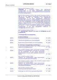 Nomenclatuur van de geneeskundige verstrekkingen – Hfst.III ...