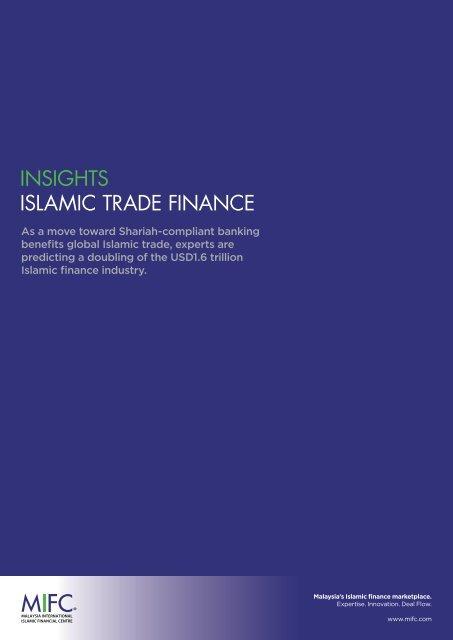 INSIGHTS ISLAMIC TRADE FINANCE - Malaysia International ...