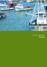 Living & Working Tourism - the Dorset AONB