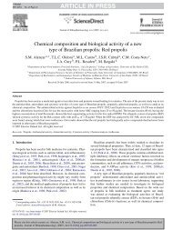 Chemical composition and biological activity of a new