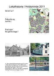 Lokalhistorie i Hvidsminde 2011 - Kolding Kommune