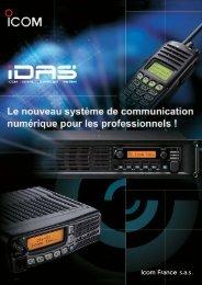 Documentation IDAS - Icom France