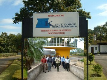 kafue gorge regional training centre - Southern African Power Pool