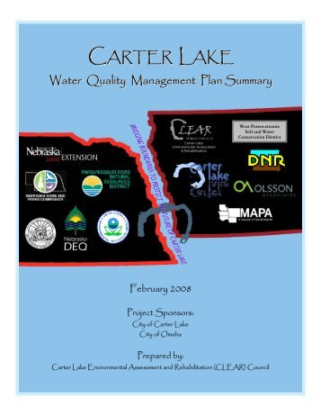 Water Quality Management Plan Summary Document - Carter Lake ...