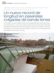 Un nuevo record de longitud en pasarelas colgadas de banda tensa