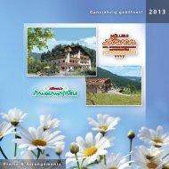 Hotel Löwen · Aktuelle Preisliste - Panoramastüble