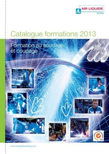 Catalogue formations Soudage et Coupage 2013 - Air Liquide ...
