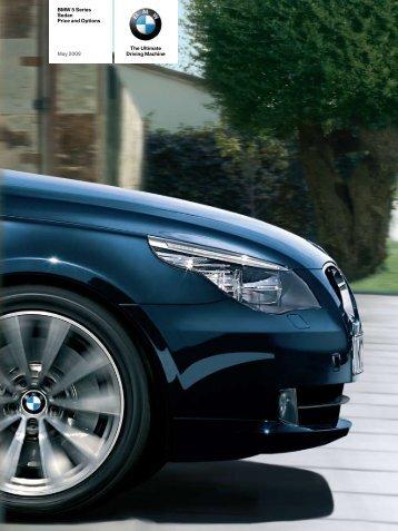 BMW 5 Series Sedan Price and Options